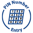 PIN Number Entry